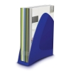 5 Star Magazine Rack File Low Sill A4 Plus and Portrait Foolscap Blue