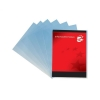 5 Star Office Folder Cut Flush Polypropylene Copy-safe Translucent A4 Frosted Clear Ref [Pack 100]