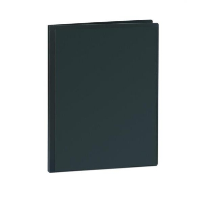 5 Star Display Book Rigid Cover Personalisable Polypropylene 30 Pockets A4 Black