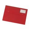 5 Star Document Wallet Polypropylene A4 Red [Pack 3]
