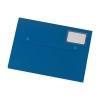 5 Star Document Wallet Polypropylene A4 Blue [Pack 3]