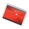 5 Star Envelope Wallet Polypropylene A4 W235mmxD335mm Transparent Clear [Pack 5]