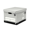 5 Star Storage Box Self-Assembly Grey [Pack 10]