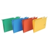 5 Star Suspension Files Manilla Wrapover Bar Tabs and Inserts Foolscap Green [Pack 50]