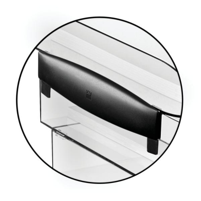 CEP Premier Risers for Letter Tray H30mm Black Ice Ref 913551 [Pack 2]