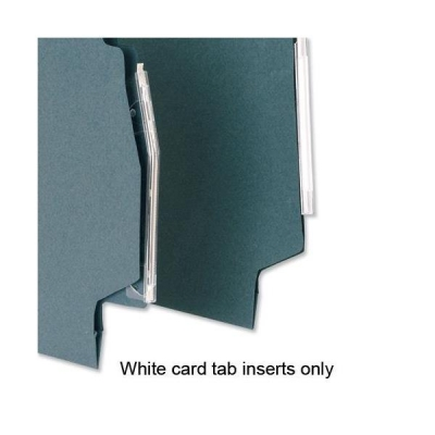 5 Star Inserts Card for Lateral File Tabs White Ref 100331407 [Pack 50]