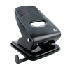 5 Star Punch 2-Hole Metal with Plastic Base Capacity 40x 80gsm Black