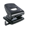 5 Star Punch 2-Hole Metal with Plastic Base Capacity 30x 80gsm Black