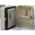 5 Star Facilities Key Cabinet Steel Lockable with Wall Fixings Holds 30 Keys W160xD80xH200mm