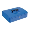 5 Star Cash Box 12 Inch W300xD240xH90mm Blue