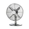 5 Star Desk Fan Oscillating 48.5Db 3-Speed 45 Watts H425mm Dia.305mm Chrome