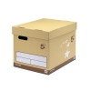 5 Star Superstrong Archive Storage Box Foolscap Sand [Pack 10]