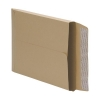 5 Star Envelopes Peel and Seal Gusset 25mm 115gsm Manilla 350x248mm [Pack 125]