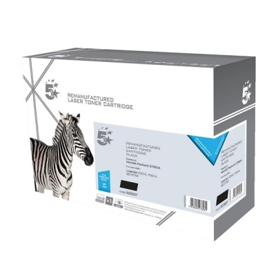 5 Star Compatible Laser Toner Cartridge Page Life 3000pp Black [HP No. 53A Q7553A Alternative]