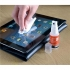 5 Star TFT Screen Cleaner Fluid and Microfibre Cleaning Cloth Soft Optical Quality Blue