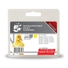 5 Star Compatible Inkjet Cartridge Page Life 470pp Yellow [Canon CLI-521Y Alternative]