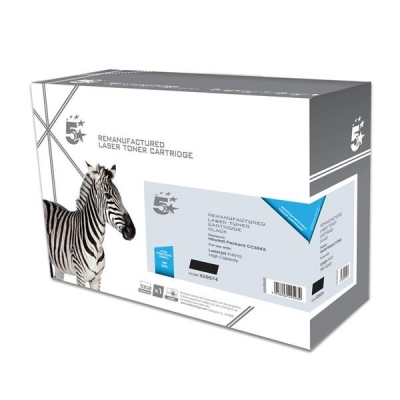 5 Star Compatible Laser Toner Cartridge Page Life 24000pp Black [HP No. 64X CC364X Alternative]