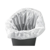 5 Star Liners Swing Bin 40 Litre Capacity White [Pack 1000]