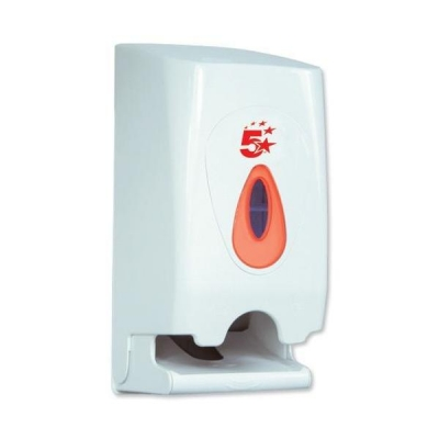 5 Star Facilities Twin Toilet Roll Dispenser