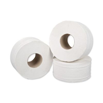 5 Star Facilities Jumbo Roll 2-ply 9x38cm 200m [Pack 12]