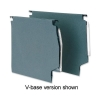 5 Star Lateral File Manilla with Clear Tabs and Inserts W275mm Green [Pack 50]