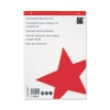 5 Star Flipchart Pad Recycled Perforated 70gsm 40 Sheets A1 White [Pack 5]