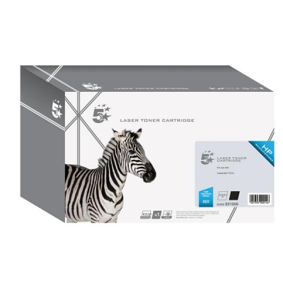 5 Star Compatible Laser Toner Cartridge Page Life 6500pp Black [HP No. 05X CE505X Alternative]