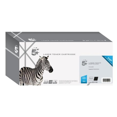 5 Star Compatible Laser Toner Cartridge Page Life 2300pp Black [HP No. 05A CE505A Alternative]