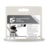 5 Star Compatible Inkjet Cartridge Page Life 475pp Black [Lexmark No. 34 018C0034E Alternative]