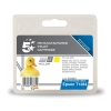 5 Star Compatible Inkjet Cartridge Capacity 3.5ml Yellow [Epson T1284 Alternative]