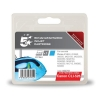 5 Star Compatible Inkjet Cartridge Page Life 570pp Cyan [Canon CLI-526C Alternative]