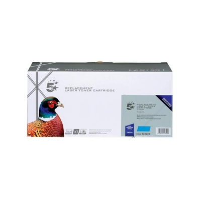 5 Star Compatible Laser Toner Cartridge Page Life 4000pp Cyan [Brother TN325C Alternative]