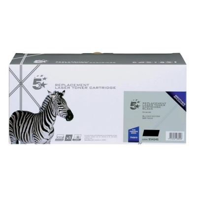 5 Star Compatible Laser Toner Cartridge Page Life 1000pp Black [Brother TN2010 Alternative]