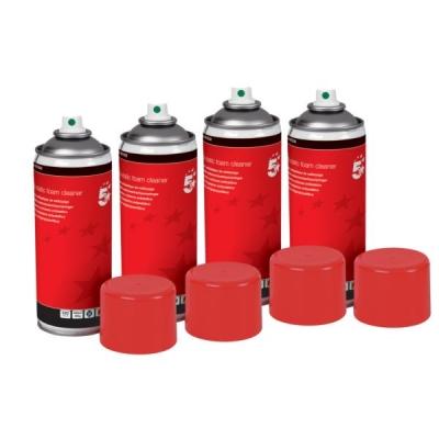 5 Star Anti-Static Foam Cleaner [Pack 4]