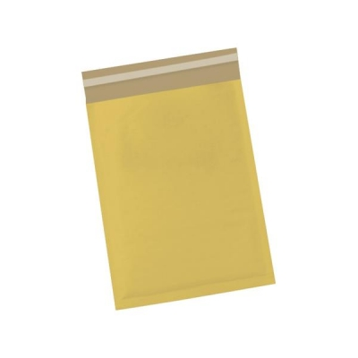 5 Star Bubble Bags Peel and Seal No.00 Gold 115x195mm [Pack 100]