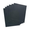 5 Star Leathergrain Covers Black [Pack 100]