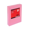 5 Star Coloured Copier Paper Multifunctional Ream-Wrapped 80gsm A4 Medium Pink [500 Sheets]