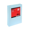 5 Star Coloured Card Multifunctional 160gsm A4 Light Blue [250 Sheets]