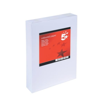5 Star Card Multifunctional 160gsm A4 White [250 Sheets]