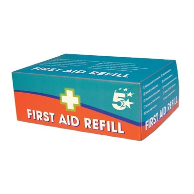 5 Star Facilities Refill For HS1 10 Person First-Aid Kit