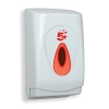 5 Star Facilities Toilet Tissue Dispenser White