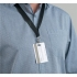 5 Star Office Name Badge with Neck Strap PVC 110x90mm [Pack 10]
