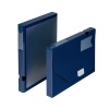 5 Star Office Document Box Polypropylene 30mm Capacity 250 Sheets A4 Blue [Pack 10]
