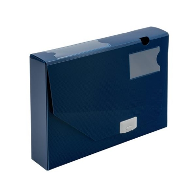 5 Star Office Document Box Polypropylene 60mm Capacity 600 Sheets A4 Blue