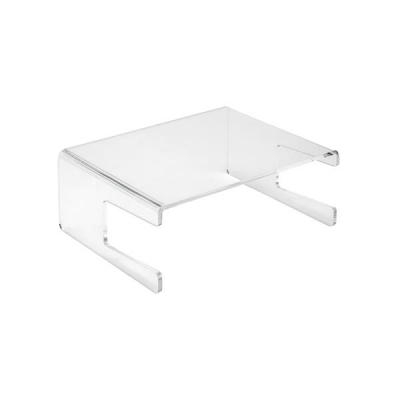 5 Star Office Monitor Stand Acrylic Capacity 21inch W305xD355xH195mm Clear