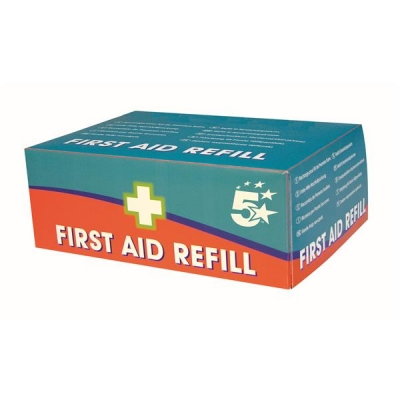 5 Star Facilities First Aid Kit Refill 50 People
