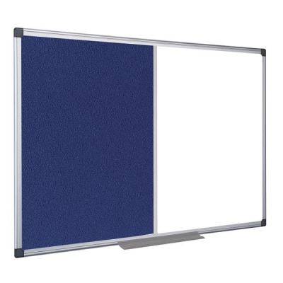 5 Star Combination Whiteboard Dual Surface 900x600mm