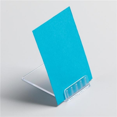 5 Star Table Top Card Holder Angled Point Of Sale [Pack 10]