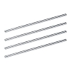 5 Star Risers Chrome Plated 152mm [Pack 4]