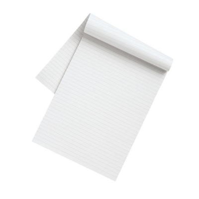 5 Star Eco Recycled Memo Pad 60gsm A4 [Pack 10]